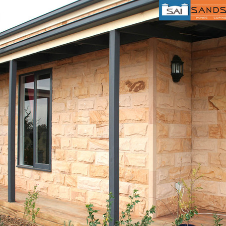 Sandstone Wall Cladding Applications