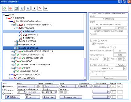 Lubrilys: logiciel de gestion de la lubrification