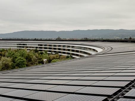 ONU premia Apple por usar 100% de energia renovável em suas operações!