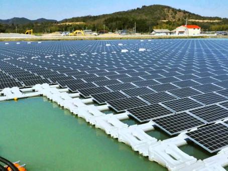 Primeira Usina Solar Fotovoltáica Flutuante no Brasil