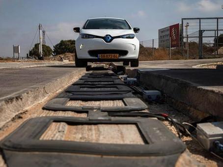 Tel Aviv inicia implementação de estradas elétricas!