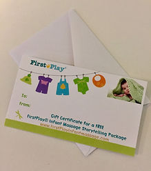 FirstPlay® gift certficate