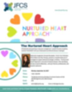 The Nurtured Heart Approach Workshop Flier