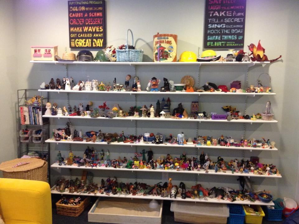 sandtray shelves