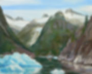 In the Heart of LeConte 2006 Oil0001.JPG