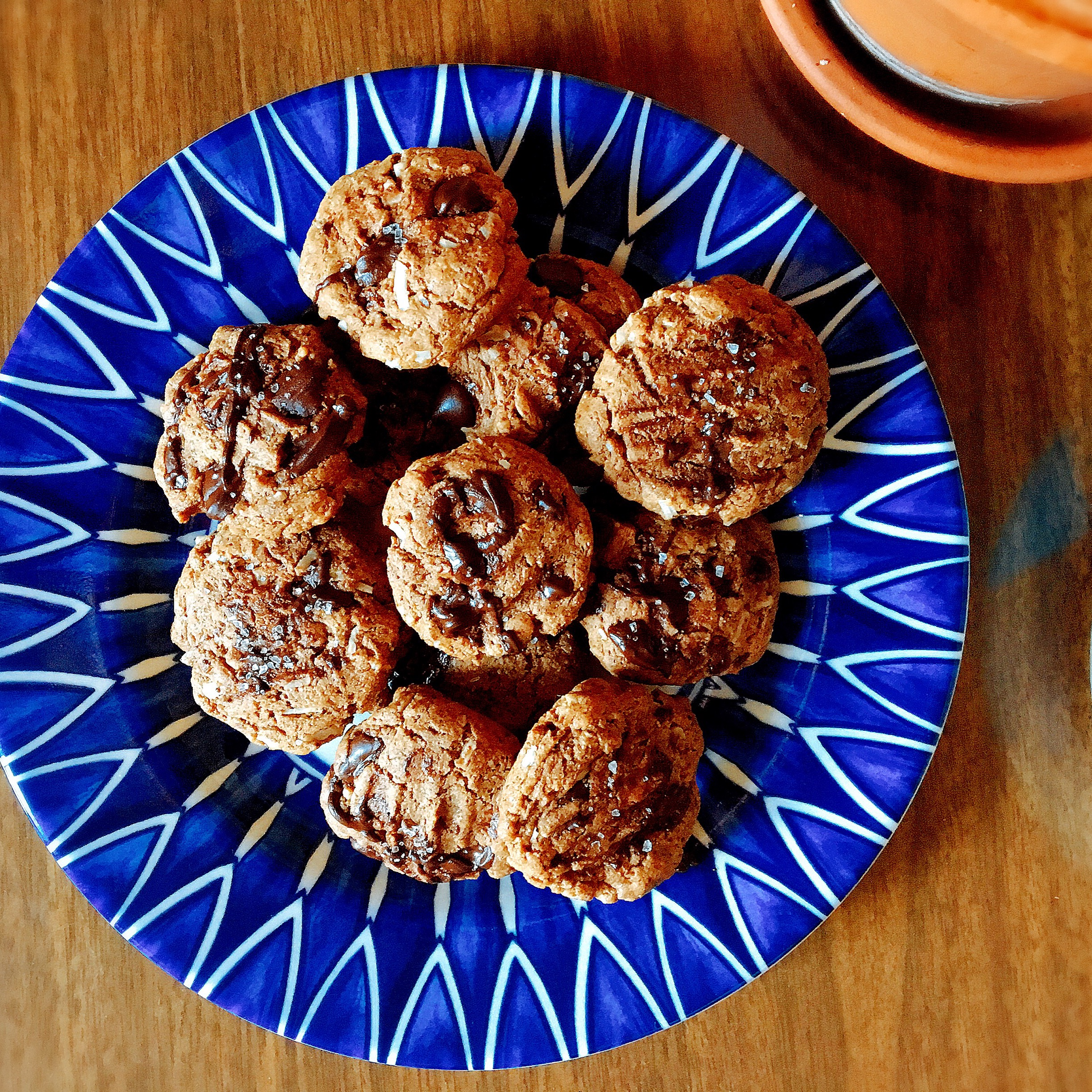 coconut + sea salt cookies