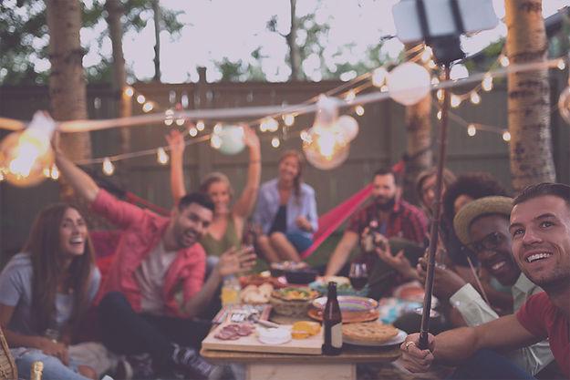 Hyr ljud och ljus sommarfest
