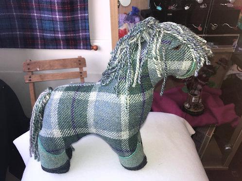 Harris Tweed Horses