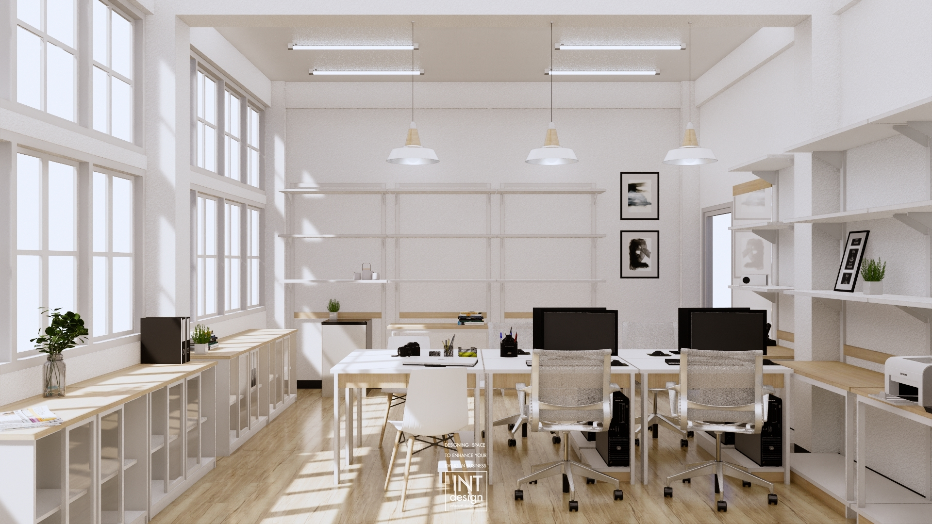 Inthenorth Design Workplace design 2