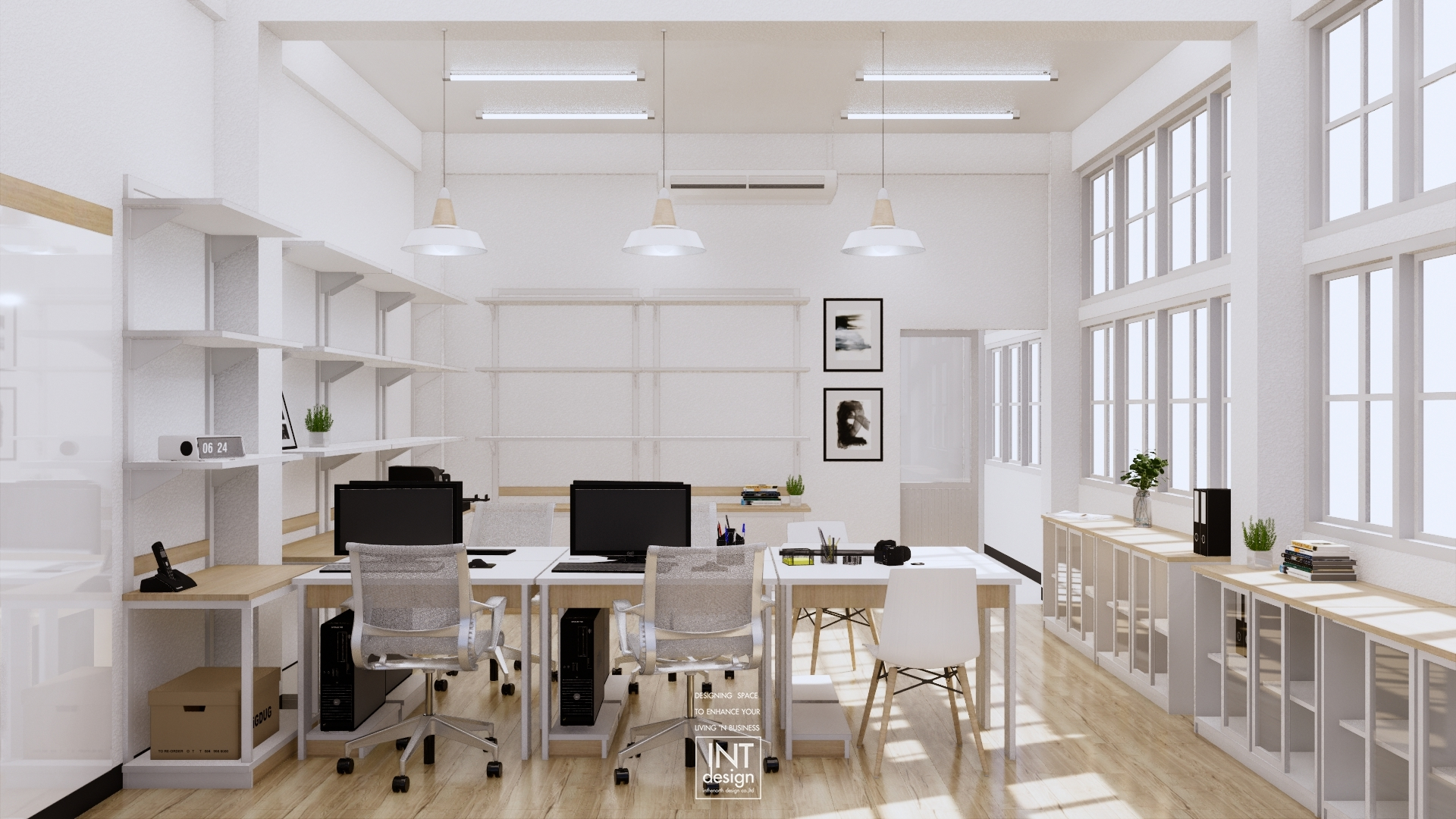 Inthenorth Design Workplace design