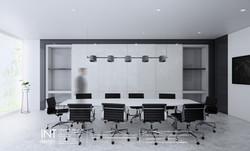 ตกแต่งห้องประชุม inthenorth design