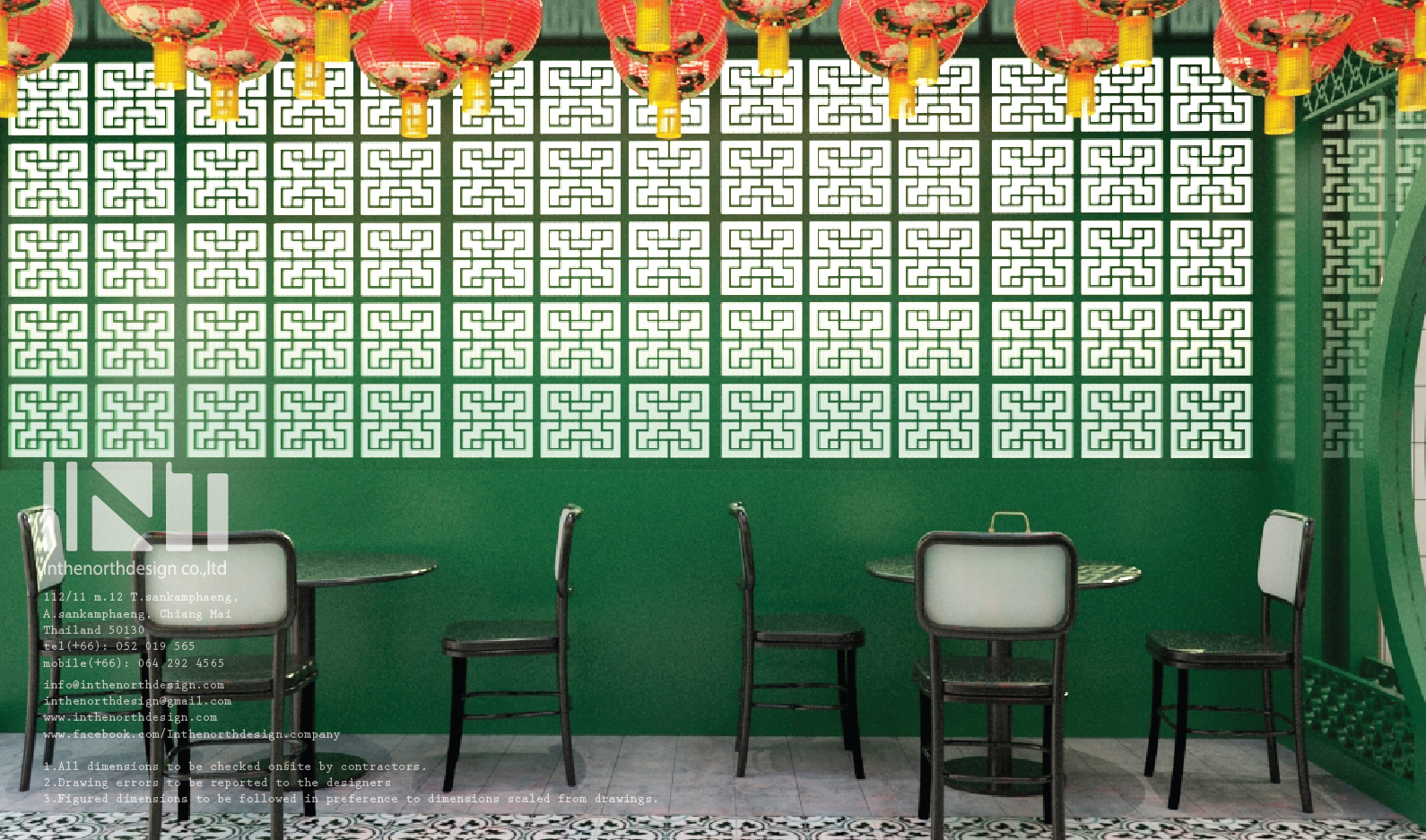 Inthenorth design Chinese Restaurant des