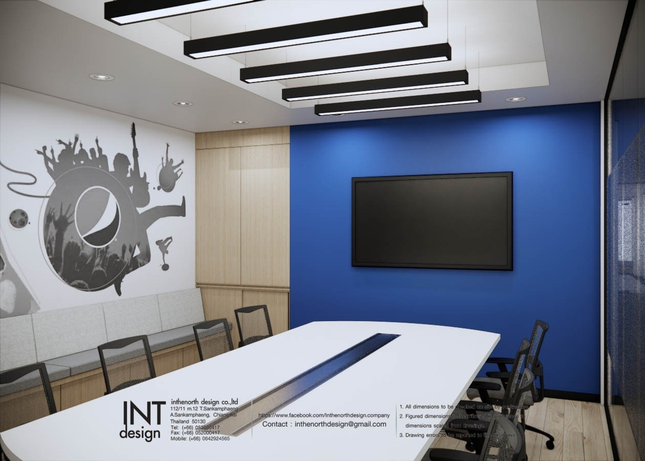Inthenorth Design x Pepsico meeting room