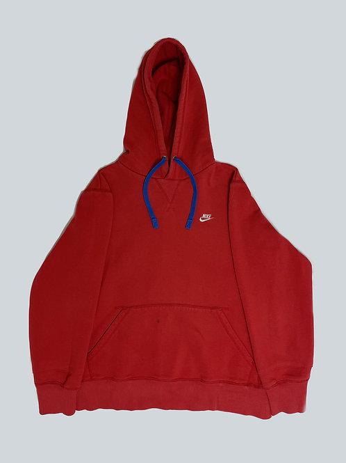 Nike Vintage Red Spellout Hoodie