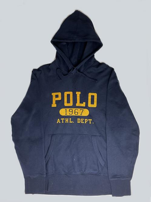 Polo Ralph Lauren Navy Fleece Hoodie