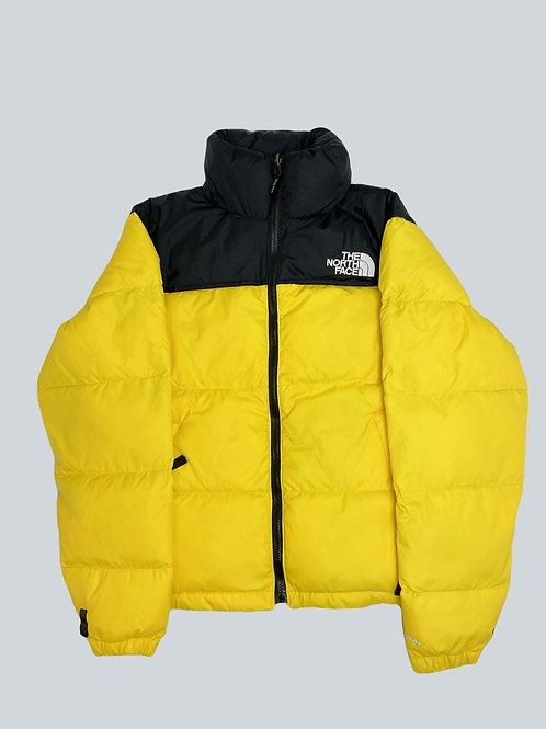 North Face Nuptse 700 Yellow Puffer Jacket