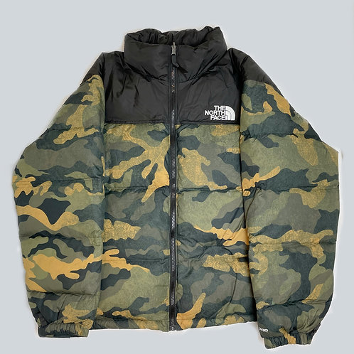 North Face Nuptse 700 Camouflage Puffer Jacket