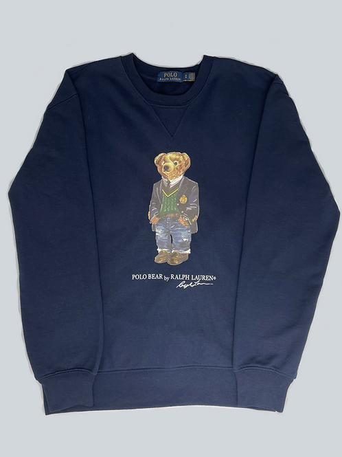 Ralph Lauren Polo Bear Navy Sweatshirt