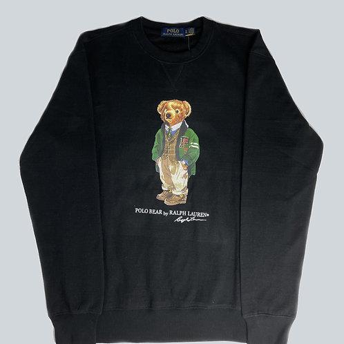 Ralph Lauren Polo Bear Black Sweatshirt