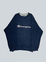 Champion Vintage Navy Sweatshirt