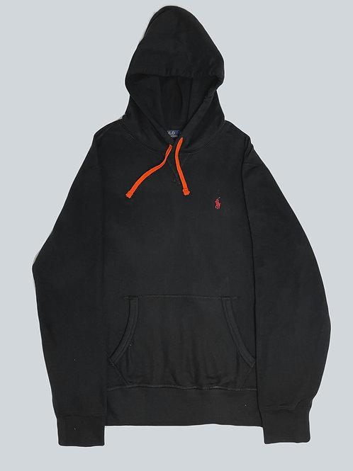 Polo Ralph Lauren Classic Black/Orange Fleece Hoodie
