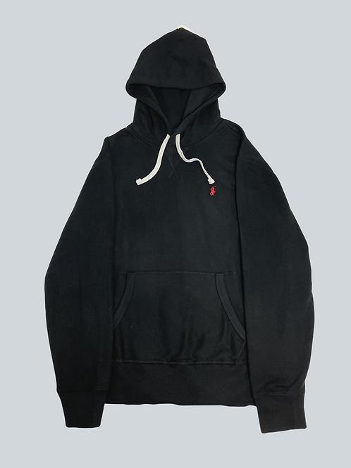 Polo Ralph Lauren Classic Black/Grey Fleece Hoodie