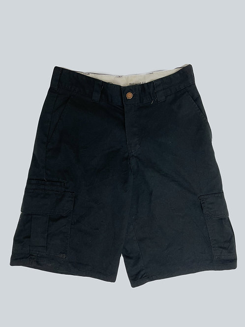 Dickies Vintage Relaxed Fit Black Cargo Shorts