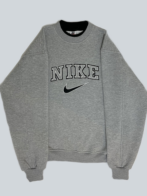 Nike Vintage 90's Grey Spellout Sweatshirt