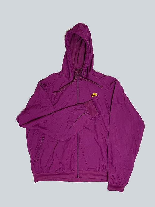 Nike Vintage Purple Spellout Windbreaker
