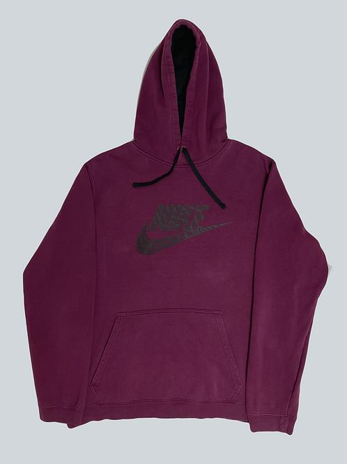 Nike Vintage Purple Spellout Hoodie