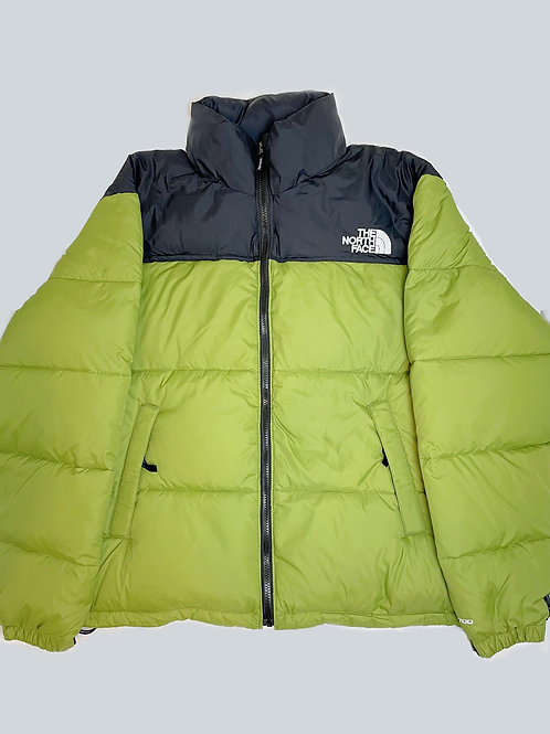 North Face Nuptse 700 Olive Green Puffer Jacket