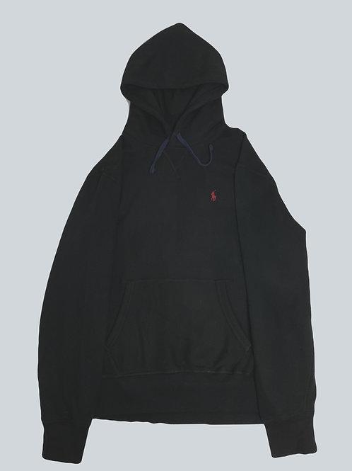 Polo Ralph Lauren Classic Black/Blue Fleece Hoodie