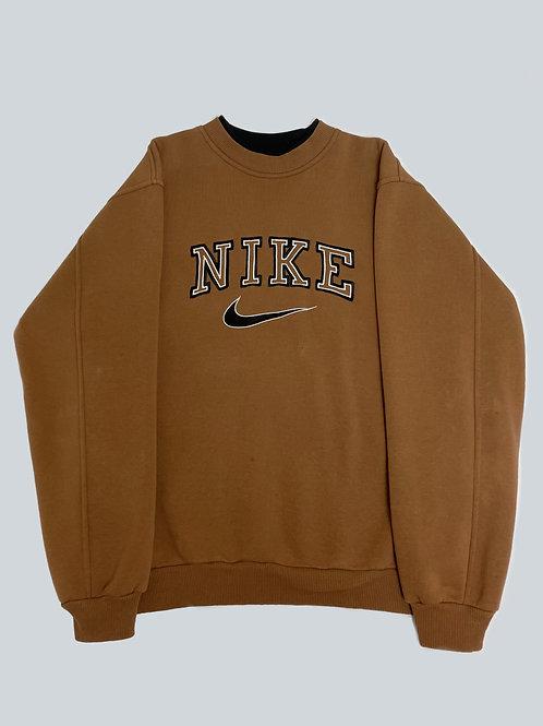 Nike Vintage 90's Brown Spellout Sweatshirt