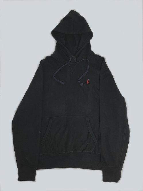 Polo Ralph Lauren Classic Black/Purple Fleece Hoodie
