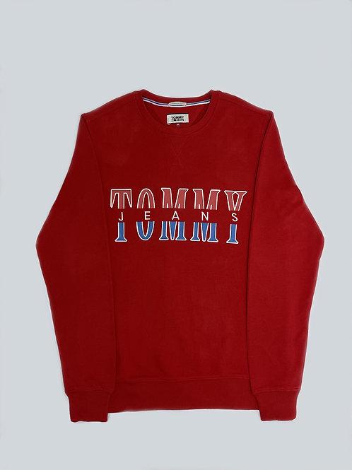 Tommy Hilfiger Jeans Red Sweatshirt