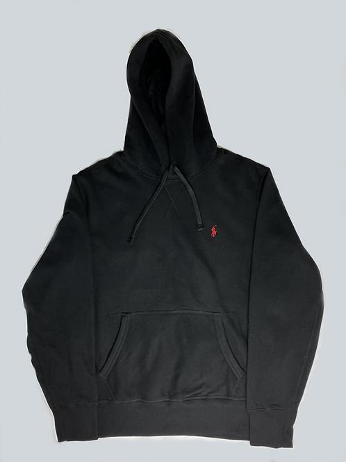 Polo Ralph Lauren Classic Black Fleece Hoodie