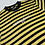 Thumbnail: Guess x Places + Faces Yellow/Black Striped Tee