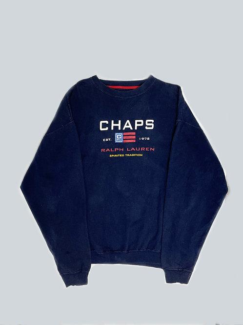 Chaps Ralph Lauren Vintage Navy Sweatshirt