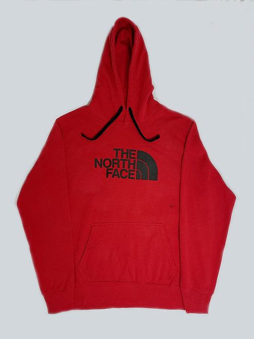 North Face Vintage Red Logo Hoodie