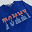 Thumbnail: Tommy Hilfiger Jeans Embroidered Blue Sweatshirt