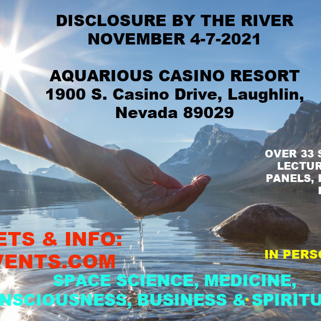 DISCLOSURE BY THE RIVER NOVEMBER 4-7-2021