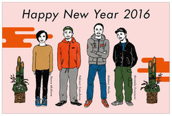 Wady co., ltd 2016 New Year Card