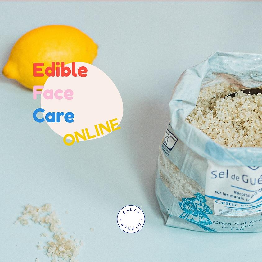Online Edible Face Care Workshop