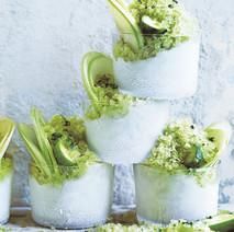 Cucumber, Mint & Apple Granita