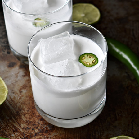 Coconut Mezcal Margarita