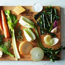 Veg Stock with Food Scraps
