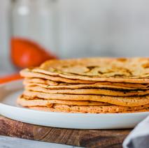 3-Ingredient Lentil Tortillas