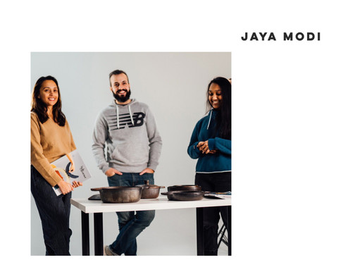 Table Talks: meet Jaya, art & design enthusiast (with a generous pinch of food)
