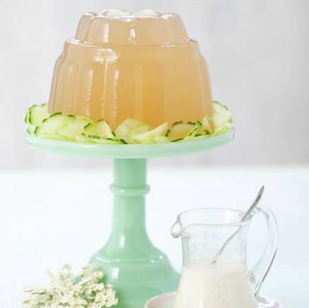 Elderflower & Gooseberry Jelly