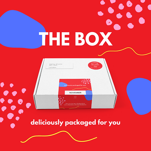 THE BOX by Paper Island Pantry / NOVEMBER